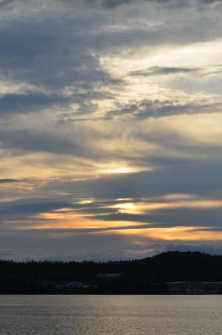 sunset on thepatio Lewisporte, Newfoundland and Labrador Canada