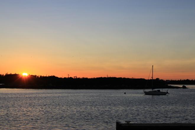 Harbour Sunset Yarmouth, Nova Scotia Canada