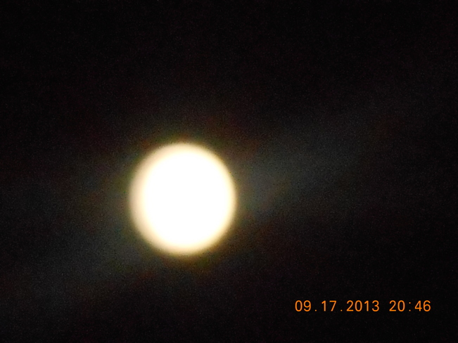 Full Moon Dartmouth, Nova Scotia Canada
