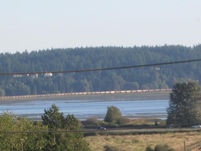 one very long train... Surrey, British Columbia Canada