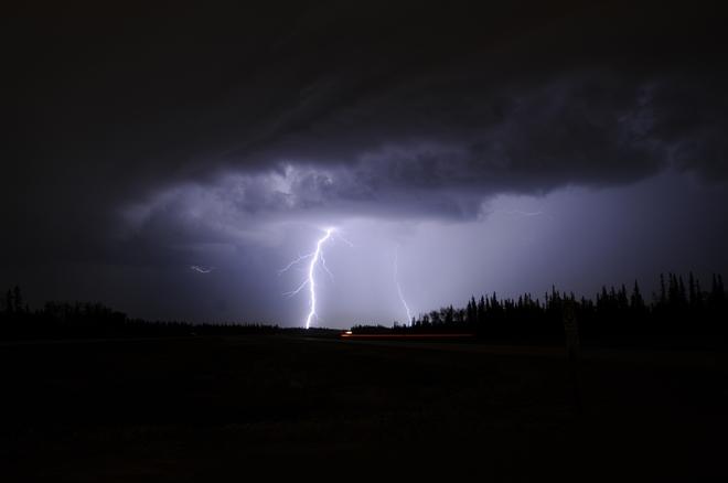 McMurray Lightning Fort McMurray, Alberta Canada