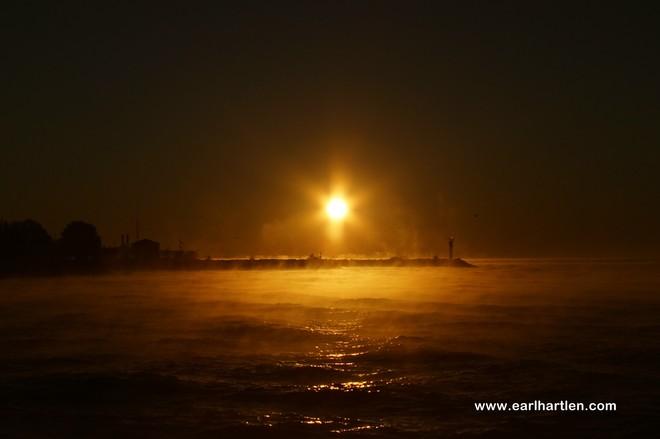 Port Dover's Misty Morning Port Dover, Ontario Canada