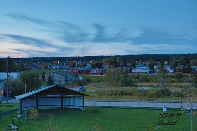 12.5°C @ 8:15 pm Swan Hills, Alberta Canada