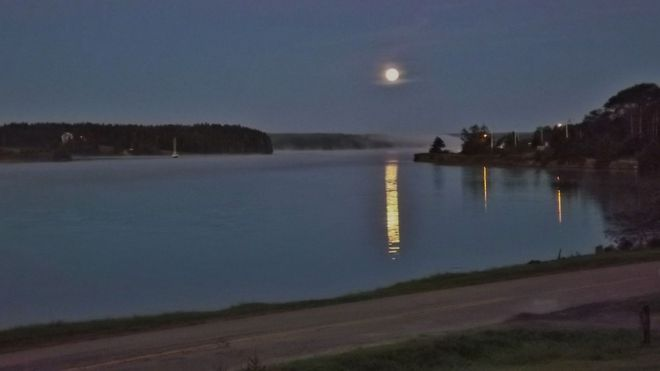 River Bourgeois Cape Breton, Nova Scotia Canada