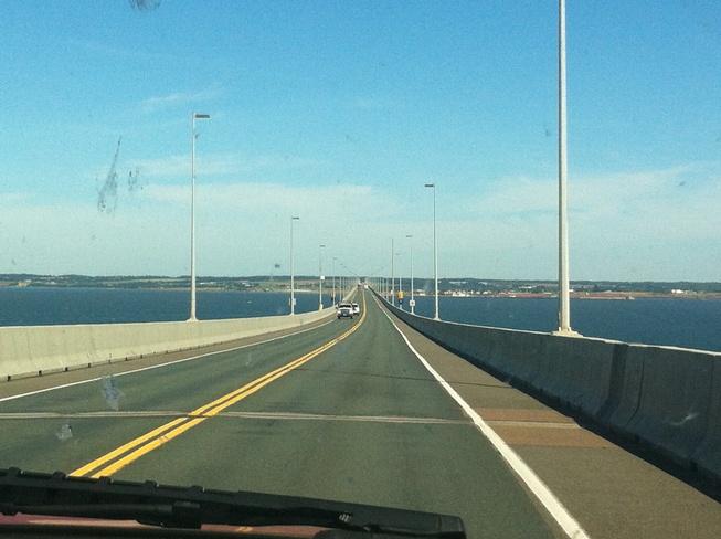 crossing to PEI Charlottetown, Prince Edward Island Canada