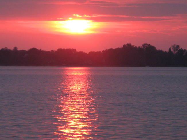 Beautiful sunset Ottawa, Ontario Canada