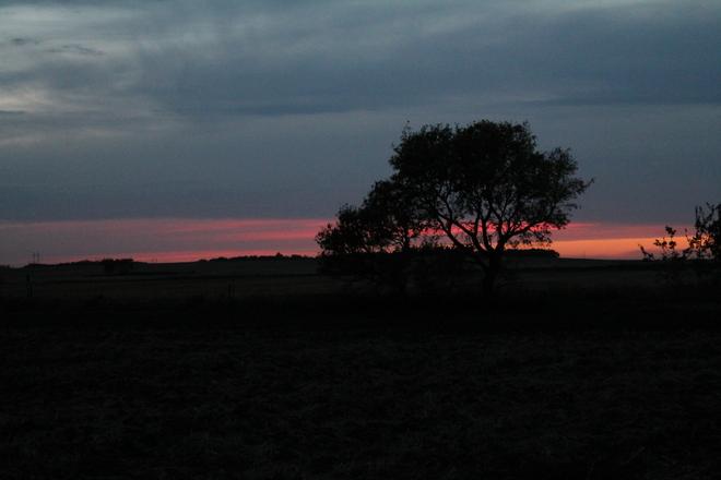 nightfall near Vanscoy Vanscoy, Saskatchewan Canada