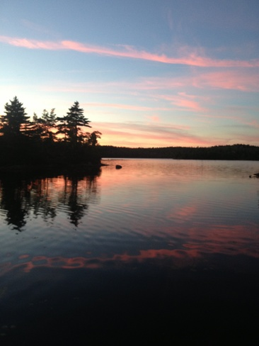 timber lake Hubbards, Nova Scotia Canada