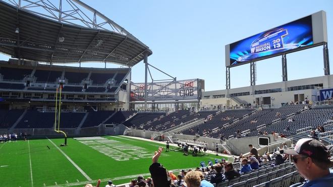 bomber stadium Winnipeg, Manitoba Canada