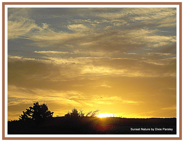 Golden sunset St. John's, Newfoundland and Labrador Canada