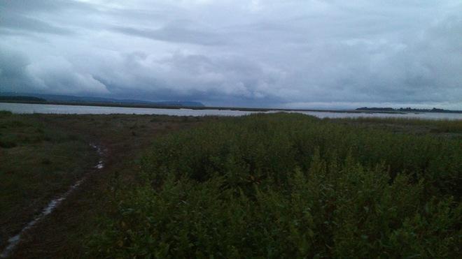 Cloudy times on Blomidon Wolfville, Nova Scotia Canada