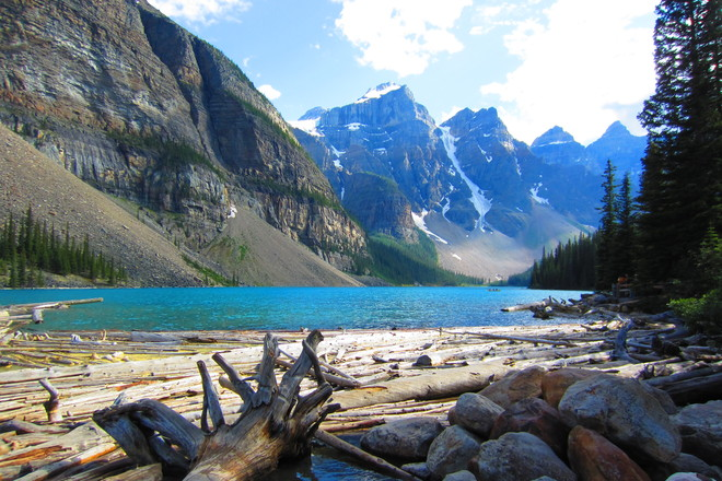 Lake Moraine Lake Louise, Alberta Canada