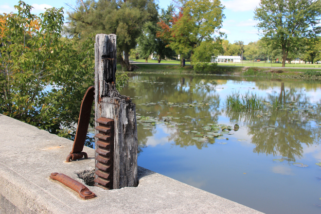 Flood Gate St. Marys, Ontario Canada