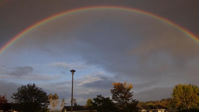 rainbow Saint John, New Brunswick Canada
