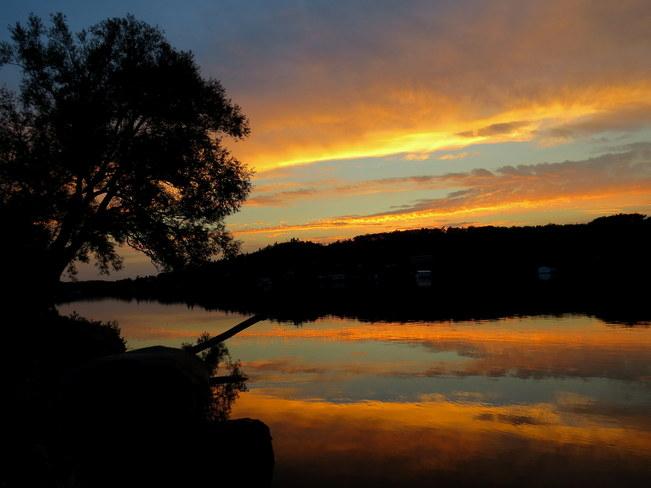 Sundown Hastings, Ontario Canada