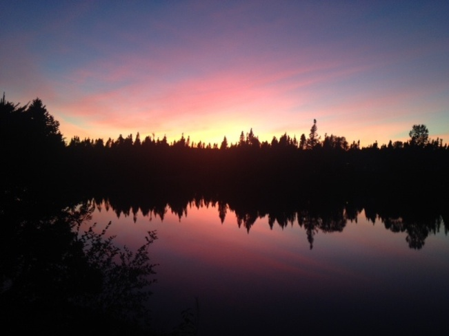 sunset Clarenville, Newfoundland and Labrador Canada