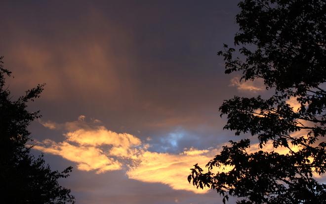 last september sunset Surrey, British Columbia Canada