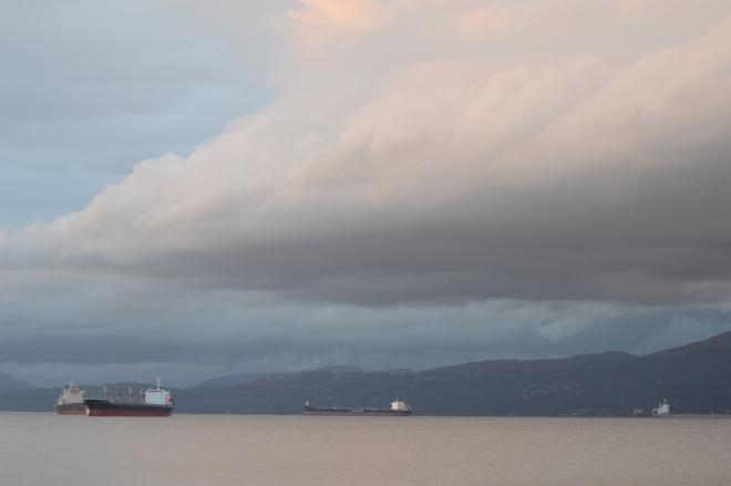 Big Cloud Vancouver, British Columbia Canada