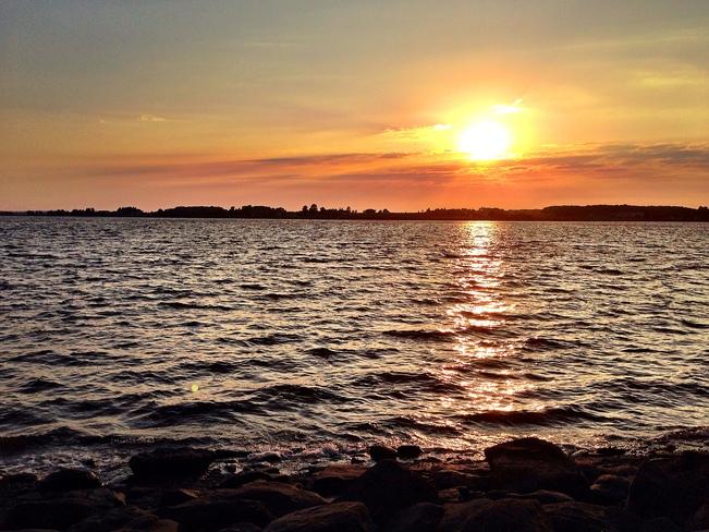 Great evening Charlottetown, Prince Edward Island Canada