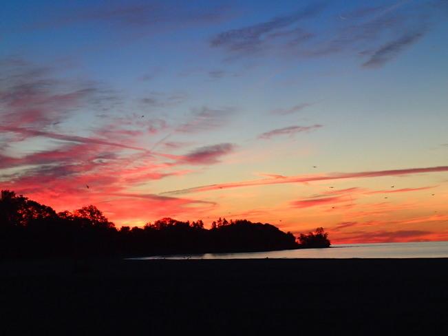 Awesome Sunrise Cobourg, Ontario Canada
