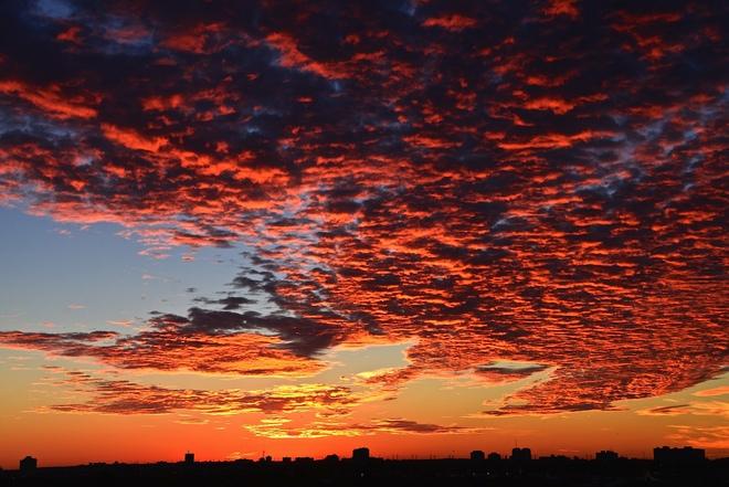 The moment before Sunrise Ottawa, Ontario Canada