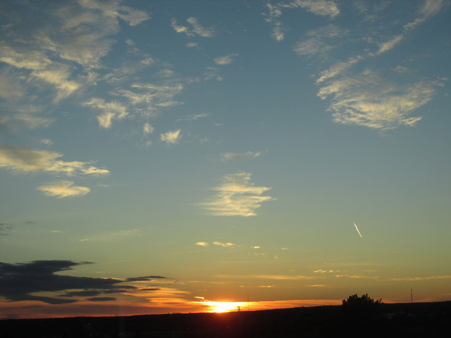 Beautiful sky this evening Moncton, New Brunswick Canada