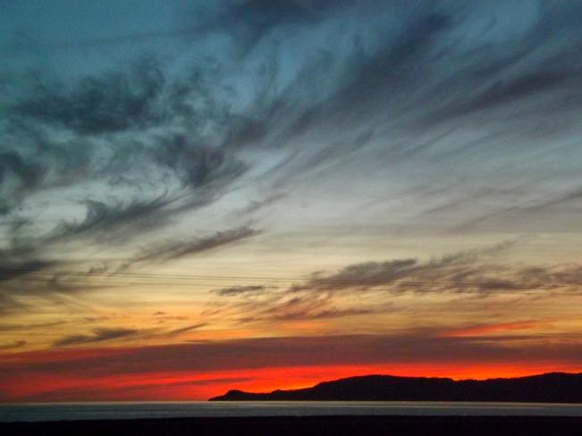 sunset Stephenville Crossing, Newfoundland and Labrador Canada