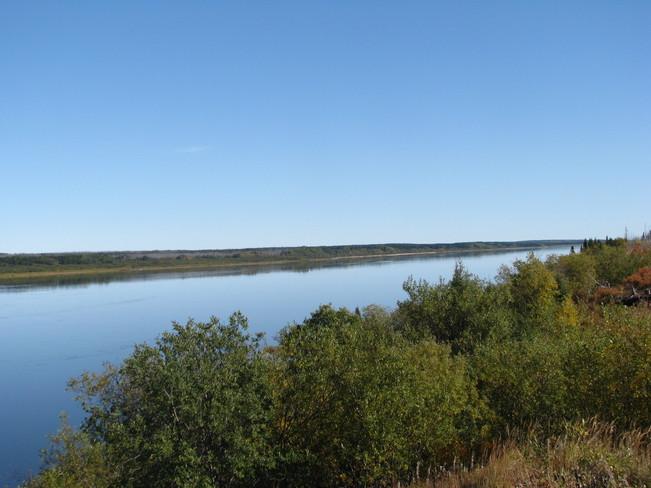Big River (Chisasibi) Looking East Chisasibi, Quebec Canada