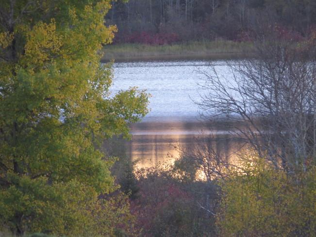 Deserted lake Timmins, Ontario Canada