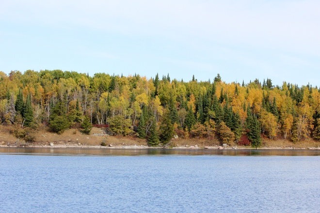 Beautiful Fall in Whiteshell Rennie, Manitoba Canada