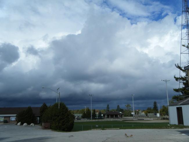clouds Tobermory, Ontario Canada