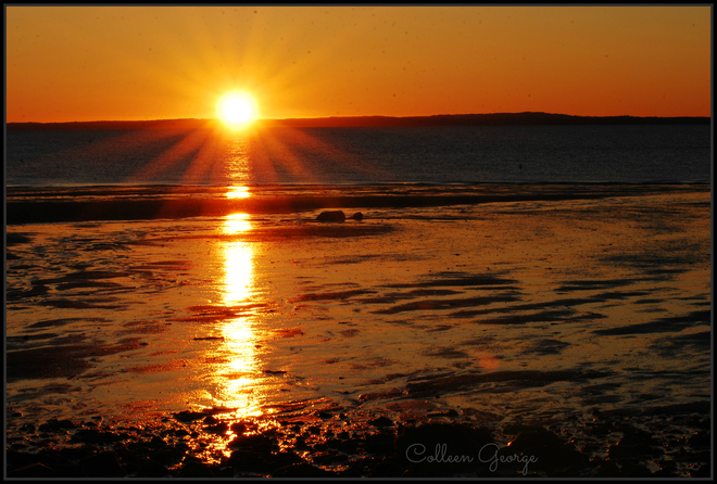 Sunrise Smiles Canning, Nova Scotia Canada