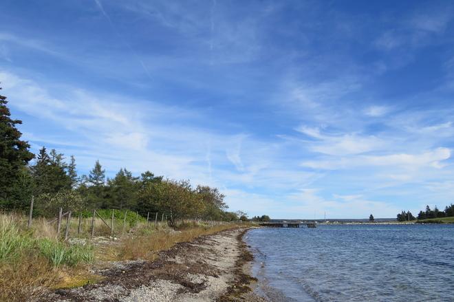 Blue Skies, Wispy Clouds Chester, Nova Scotia Canada