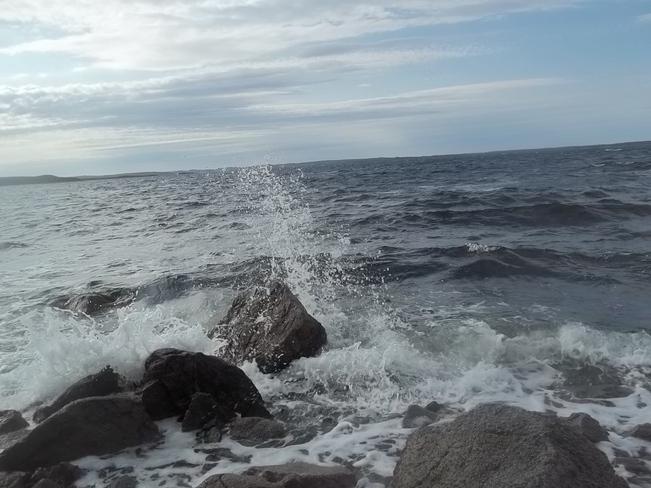 Waves Birchy Bay, Newfoundland and Labrador Canada