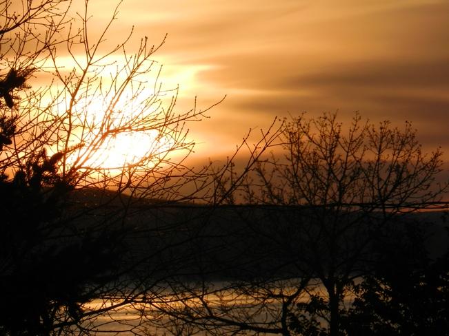 A Thanksgiving Sunrise Fort Qu'Appelle, Saskatchewan Canada