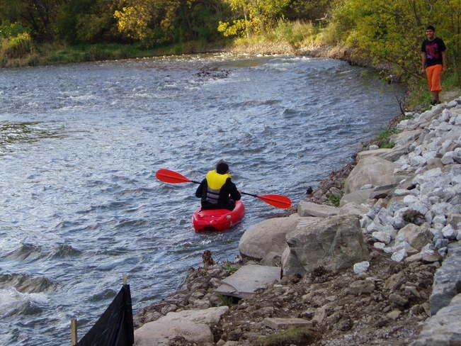 Kayaking at Credit River, Erindale Park, Mississauga, Canada Mississauga, Ontario Canada