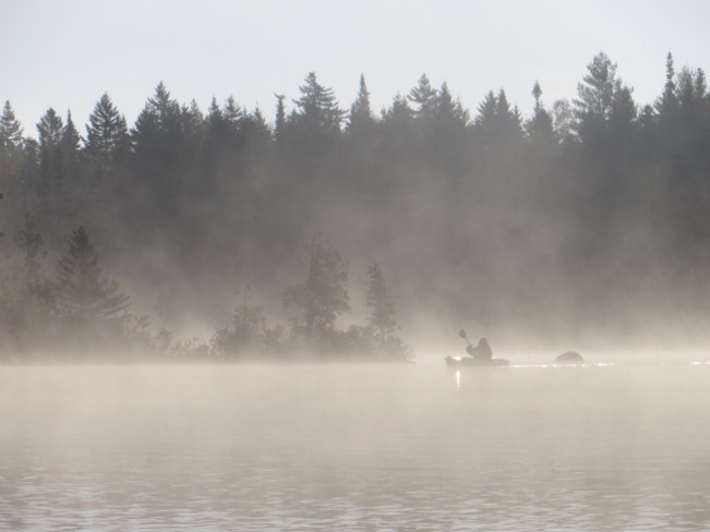 Early morning Kayak Tracy, New Brunswick Canada