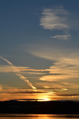 wonderful sunset Lewisporte, Newfoundland and Labrador Canada