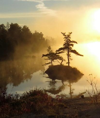 Manitoulin Morning Spring Bay, Ontario Canada