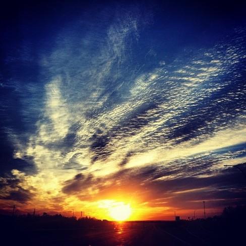 Beautiful Nova Scotia Sunrise Truro, Nova Scotia Canada