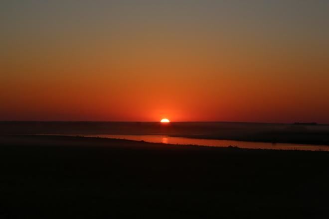 Sunset Unity, Saskatchewan Canada