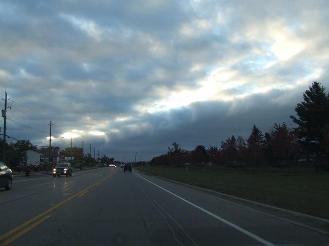 Oct Morning SKy Petawawa, Ontario Canada