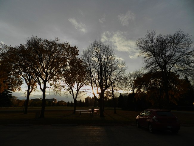 Day is Over Winnipeg, Manitoba Canada