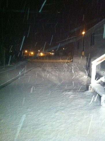 snow flakes Wabowden, Manitoba Canada