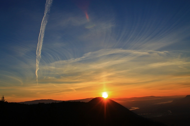 Sunset Mnt. Peter Kamloops 1, British Columbia Canada