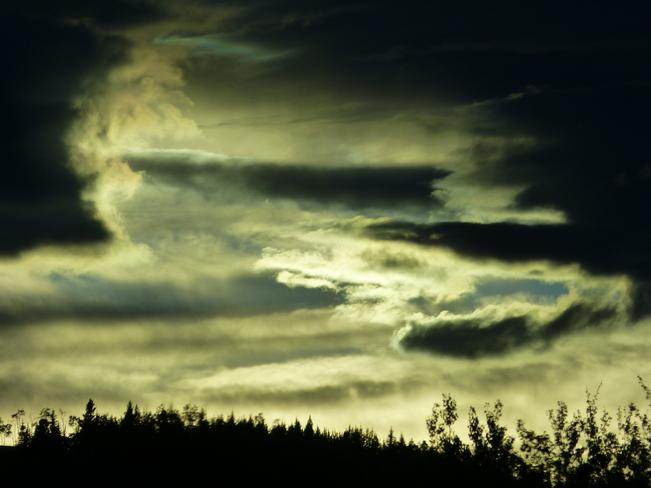 Evening Storm Millarville, Alberta Canada