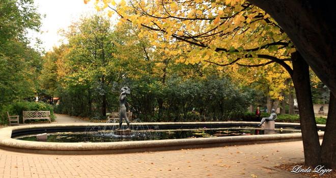 Park Fountain Winnipeg, Manitoba Canada