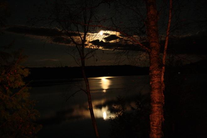 Full Moon Bancroft, Ontario Canada