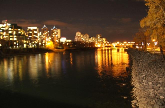 The beauty of Calgary Downtown Lights Calgary, Alberta Canada