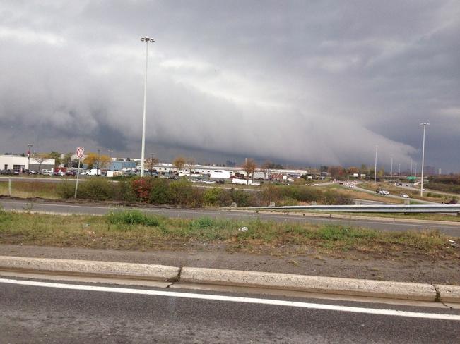 ugly clouds Ottawa, Ontario Canada